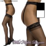 Luxury Lace Top Stocking / Suspender